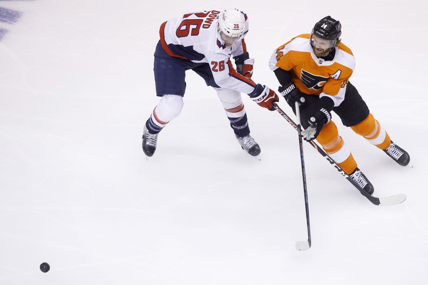 Flyers' top line helps shut down Alex Ovechkin and Co. in 3-1 victory over Capitals