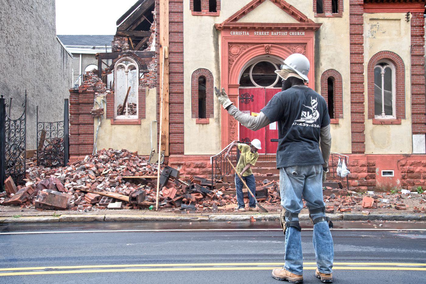 In July, the Christian Street Baptist Church in Bella Vista was demolished.