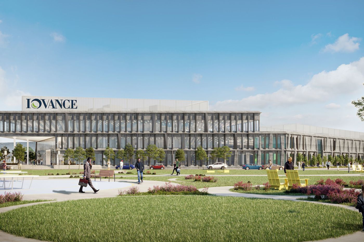 New Navy Yard lab and office complex planned for Calif. cell-therapy research firm Iovance