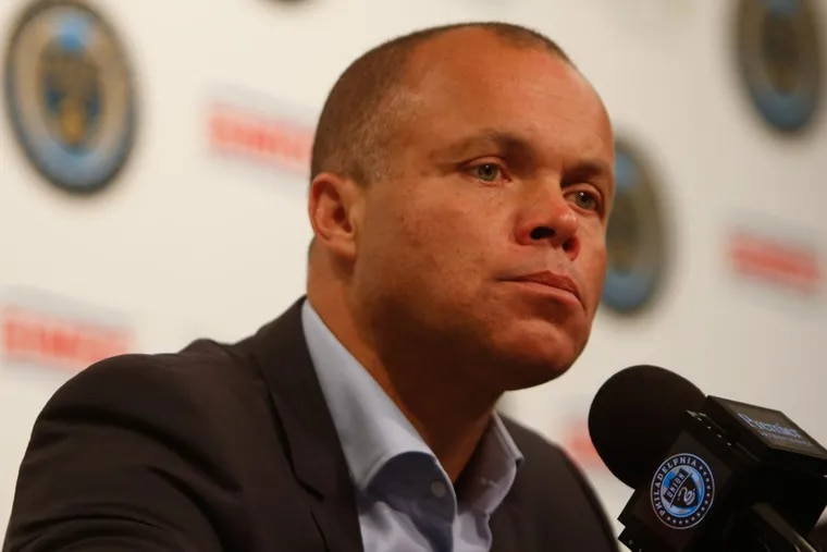 Philadelphia Union sporting director Earnie Stewart (above) and head coach Jim Curtin answered a wide range of questions at their end-of-season press conference.