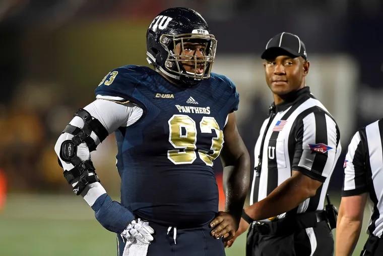 Teair Tart-Spencer, now a redshirt freshman at Florida International University, won MVP of the Public team during the 2015 city all-star football game.