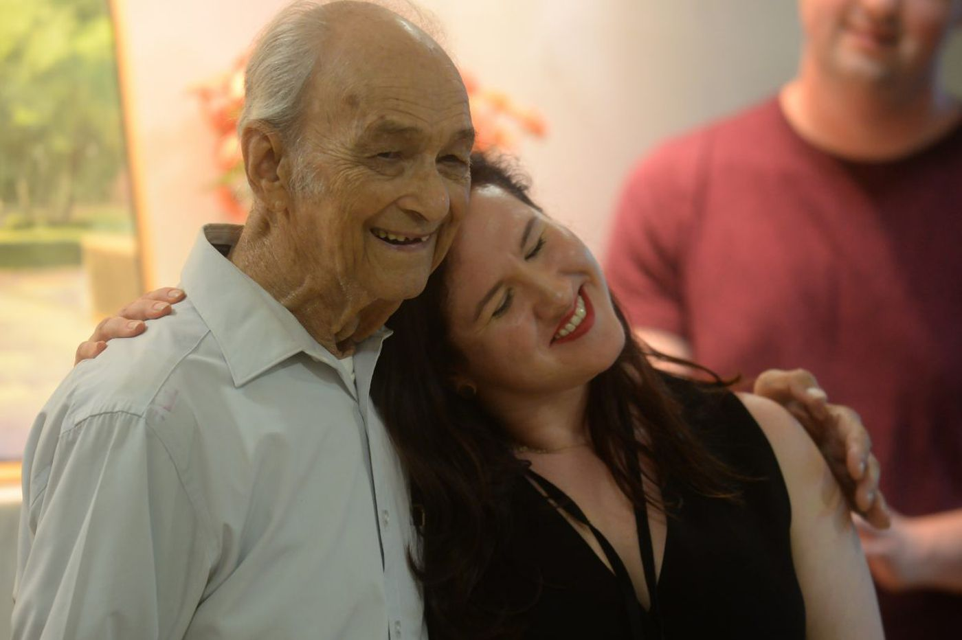 He's 93, he's dying and he wrote a comedy about it