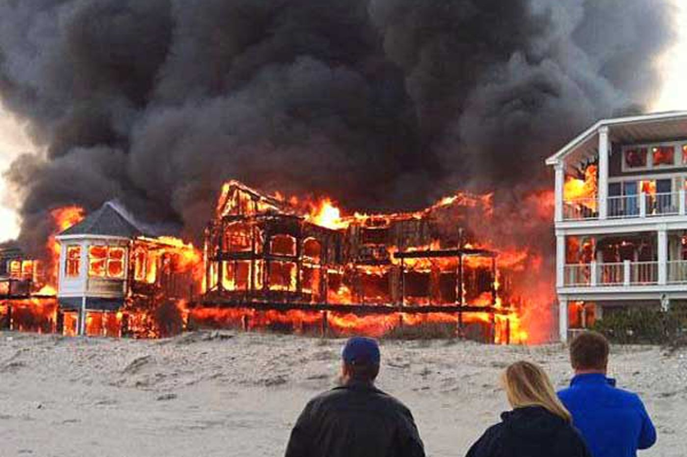 Probe continues into fire that destroyed 5 Sea Isle City homes