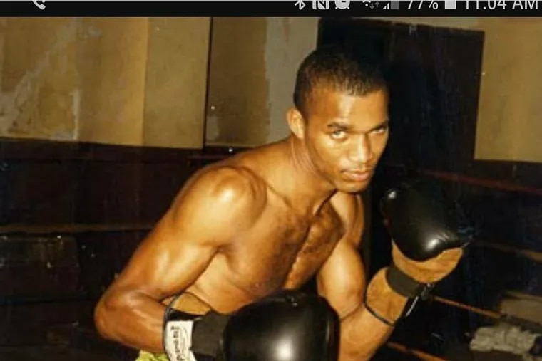 Anthony Fletcher during his boxing days.