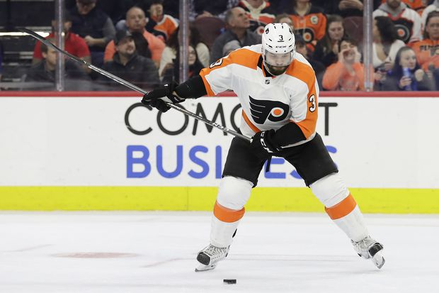 'We're still not out of it,' Flyers' Radko Gudas says amid three-game winning streak