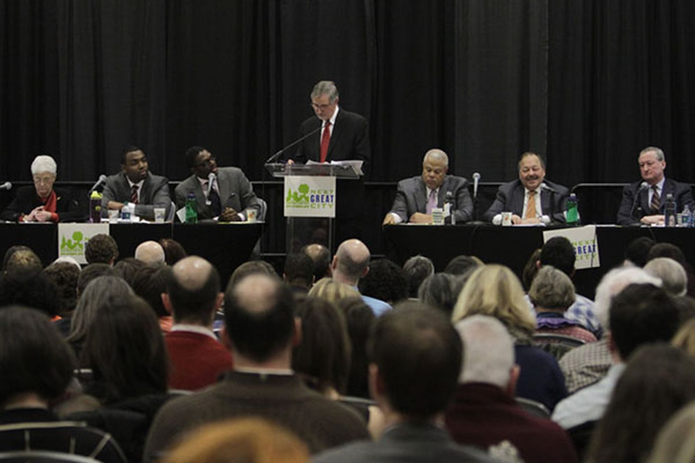 From fees to favorites: What 6 running for mayor said at forum
