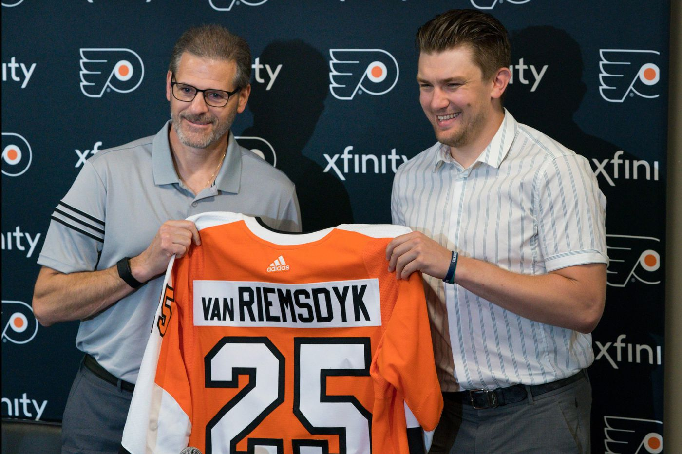 With James van Riemsdyk back, Flyers look for more pop