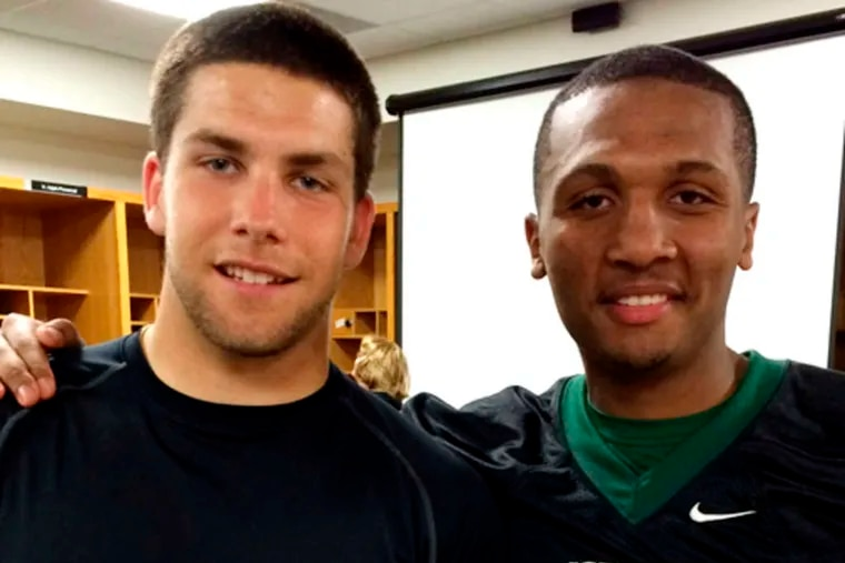 Division III Stevenson has recruited a pair of South Jersey quarterbacks, Dylan Cummings (left), from Pennsville, and Dan Williams, from Timber Creek.