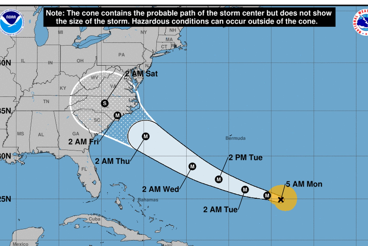 Eye of the storm Tracking Hurricane Florence and possible impact on Philly