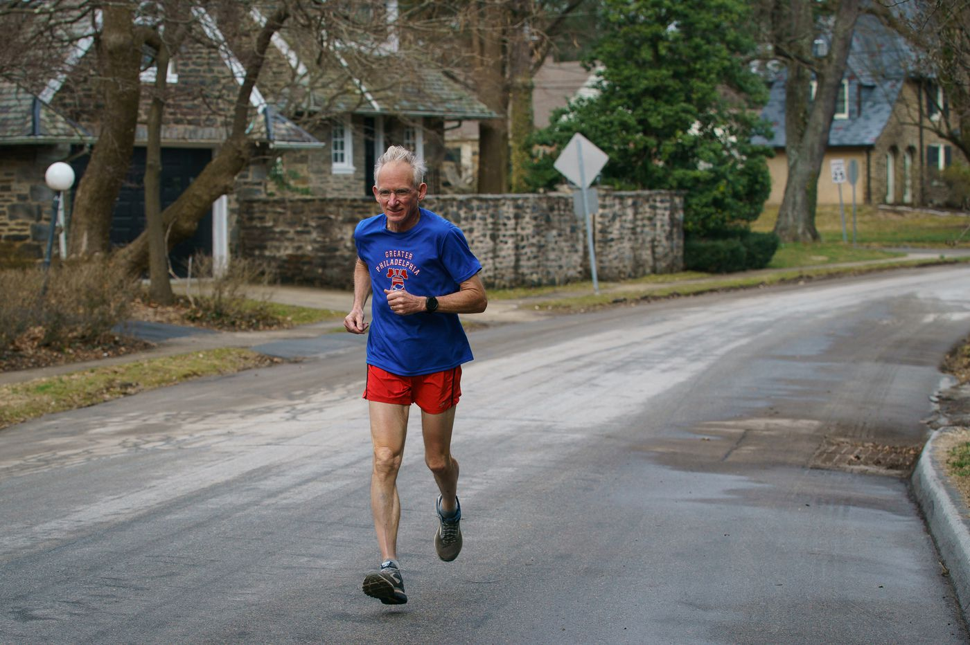 Gene Dykes, the 'Ultrageezer,' breaks own record at Boston Marathon