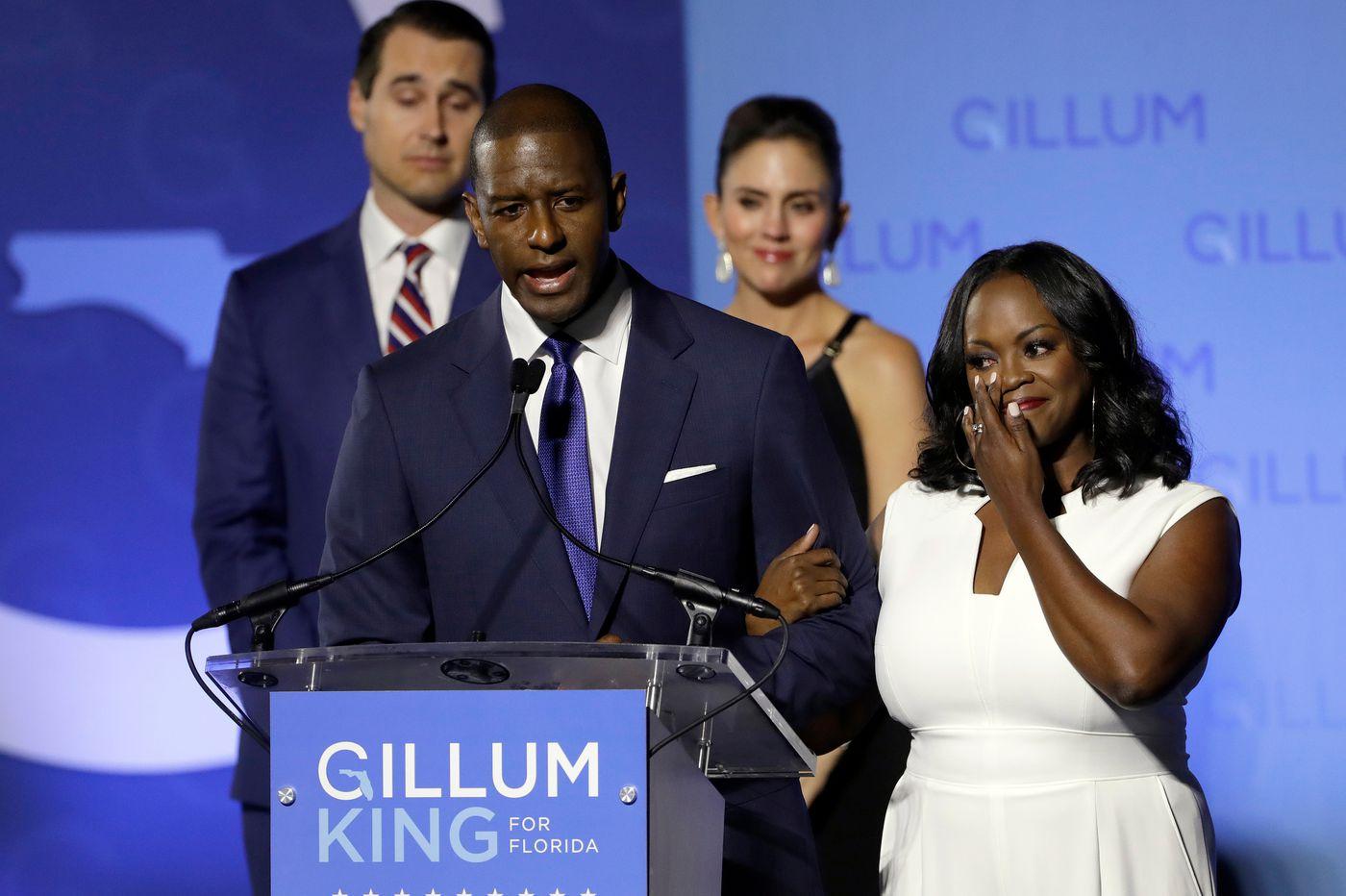 Possible recounts loom in tight Florida gov, Senate contests