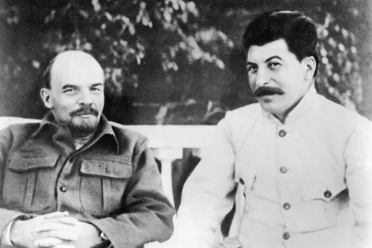 """George Orwell's """"Animal Farm"""" took direct aim at Lenin, Stalin, and other leaders of Russia's communist revolution."""