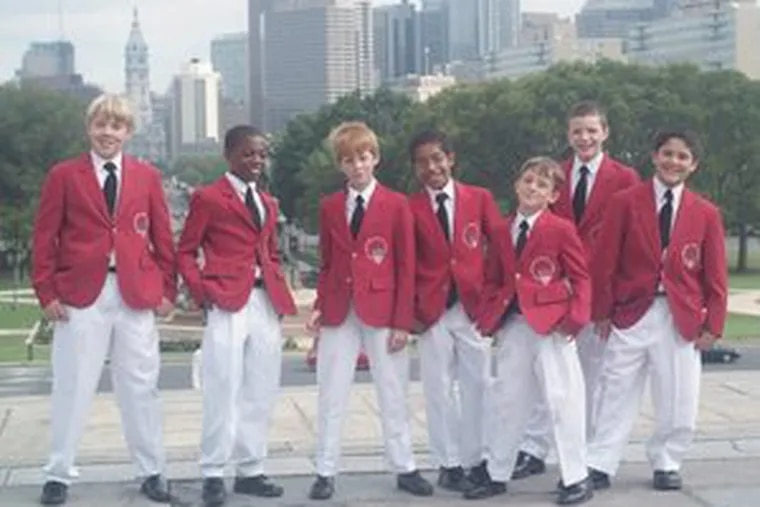 The Philadelphia Boys Choir and Chorale will perform today in Collingswood.