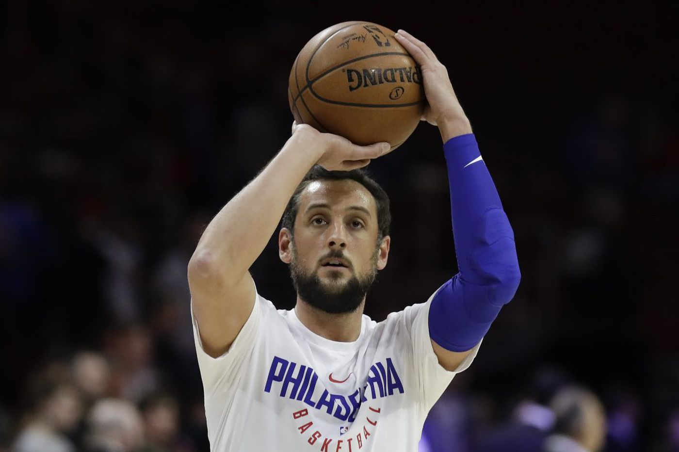 huge selection of 97c7f 73693 Marco Belinelli chose Sixers over other playoff contenders