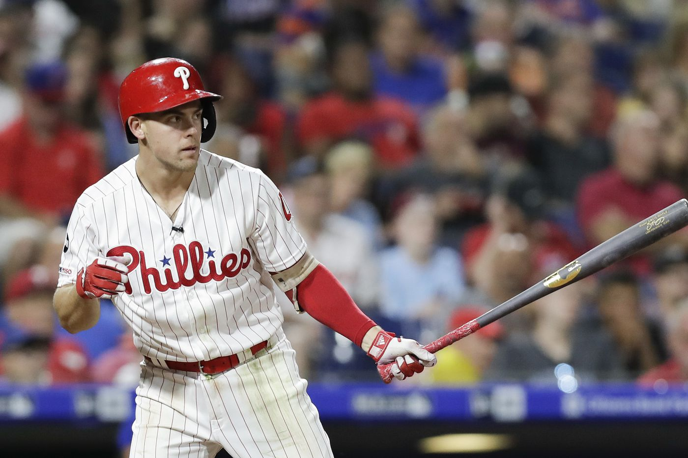 Scott Kingery joins exclusive club after delivering another clutch extra-base hit for Phillies in victory over Reds