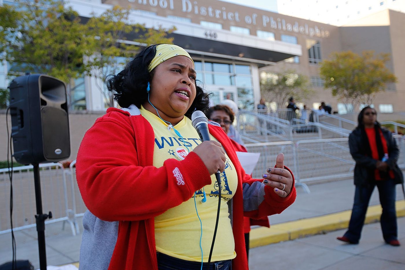 Protesters at SRC meeting angrily call for dramatic changes