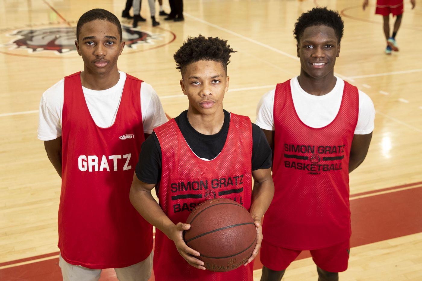 Simon Gratz rides trio of guards to Public League title game