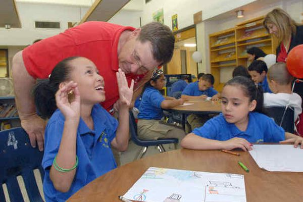Fairhill school getting a free library makeover
