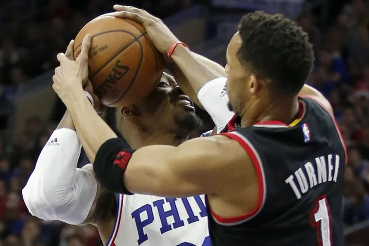 Portland knows the Sixers are no longer pushovers.  YONG KIM / Staff Photographer