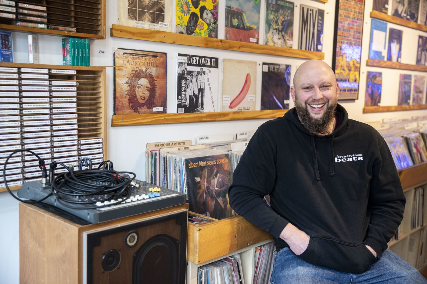'Philadelphia is the city that sleeps on itself': How a Brewerytown record store owner is shining a light on our overlooked musical past