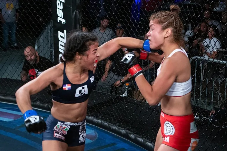 Criszaida Adames (left) is the favorite at Combate Global's eight-woman tournament on Friday.