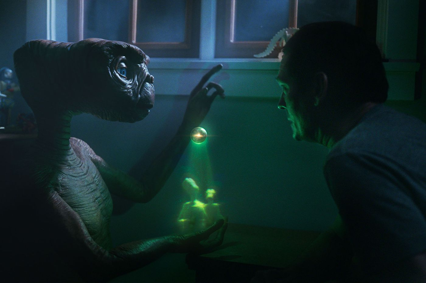 Comcast phones E.T. for a commercial: Can the alien help the mothership's brand?