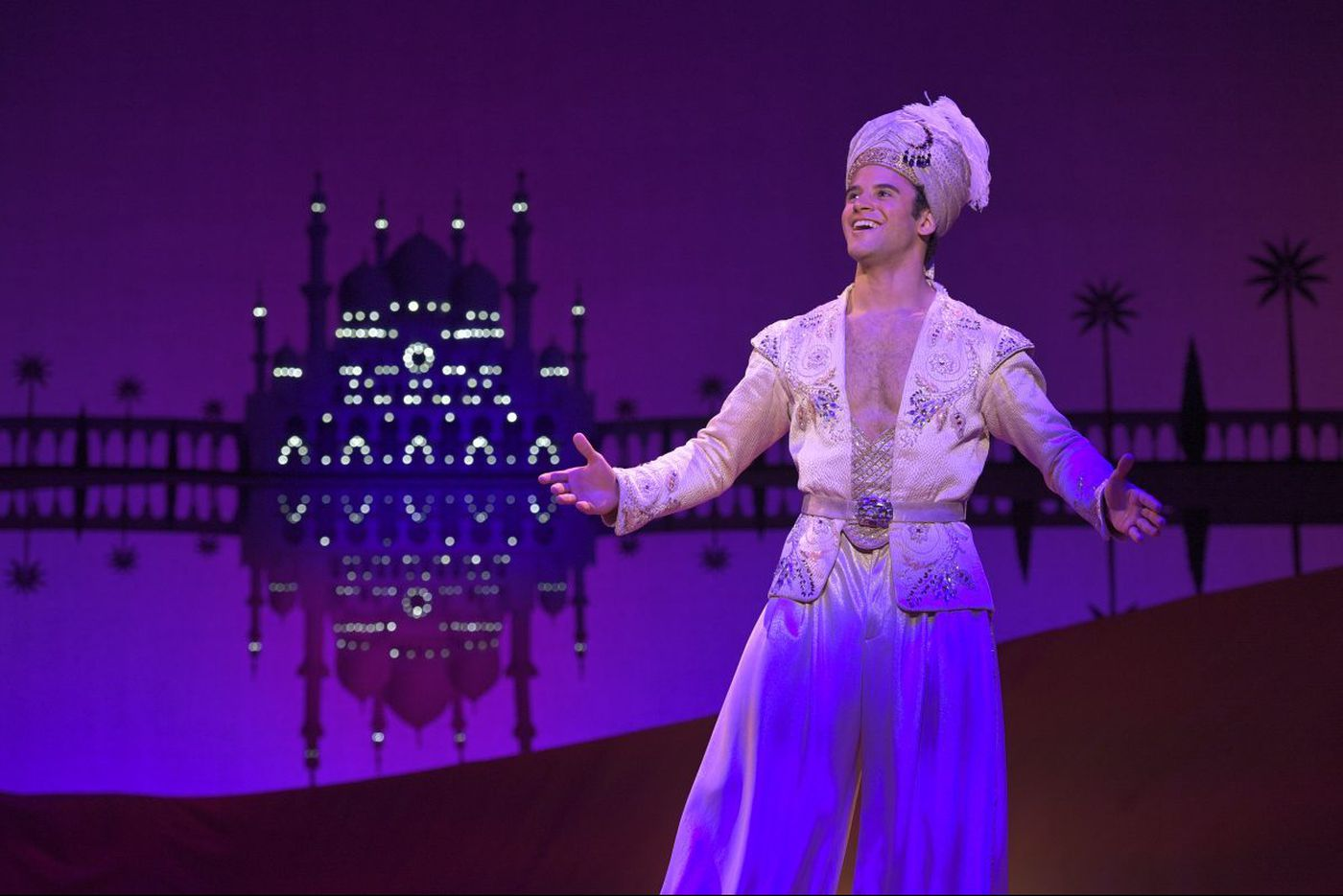 Review: 'Aladdin' at the Academy of Music overcomes technical difficulties to earn its place as one of the hottest tickets of the summer