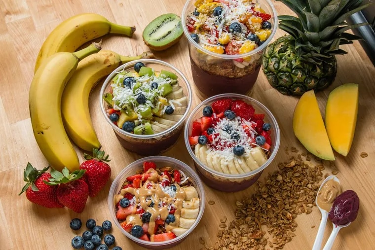 SoBol, specializing in acai bowls, is new to the Philadelphia market.