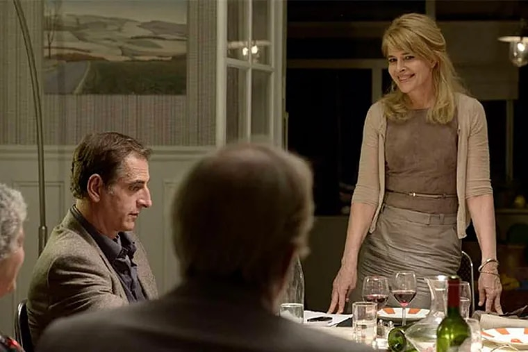 Fanny Ardant is 60-year-old retired dentist Caroline, who engages in a May-December fling with an instructor at a senior activities club.
