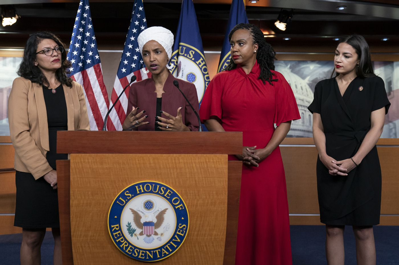 The seeds of 'send her back' chants were sown by Trump's racism. Congress should respond. | Editorial