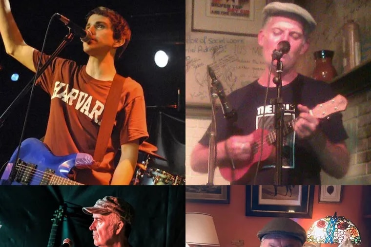 Members of the Paul O'Sullivan Band. From top left, Paul O'Sullivan, 33, of Baltimore, and Paul O'Sullivan, 52, of Rotterdam. Bottom left, Paul O'Sullivan, 57, of Manchester, and Paul O'Sullivan, 57, of Weatherly.