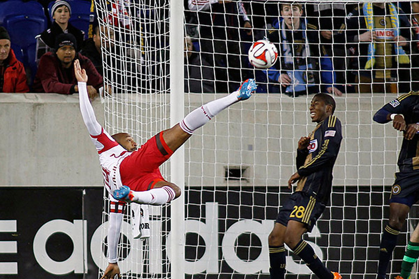 Union falls to Red Bulls