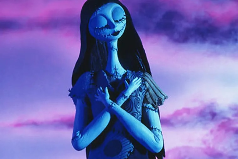 """""""The Art of Tim Burton"""" is a coffee-table book that surveys the artist/animator/filmmaker's career. This illustration is of Sally from """"Tim Burton's The Nightmare Before Christmas."""""""