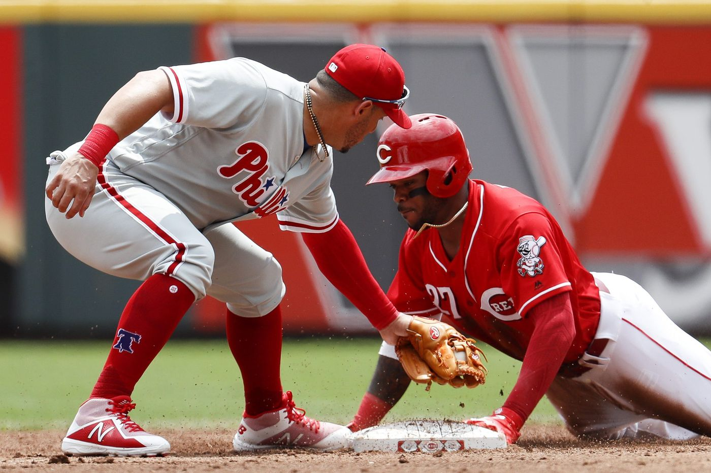 New Phillie Asdrubal Cabrera and reliever Edubray Ramos 'hugged out' their bat-flip beef