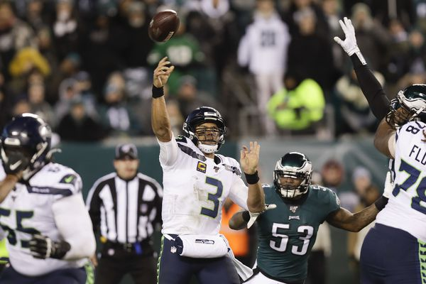 Seahawks quarterback Russell Wilson makes just enough plays to beat Eagles defense