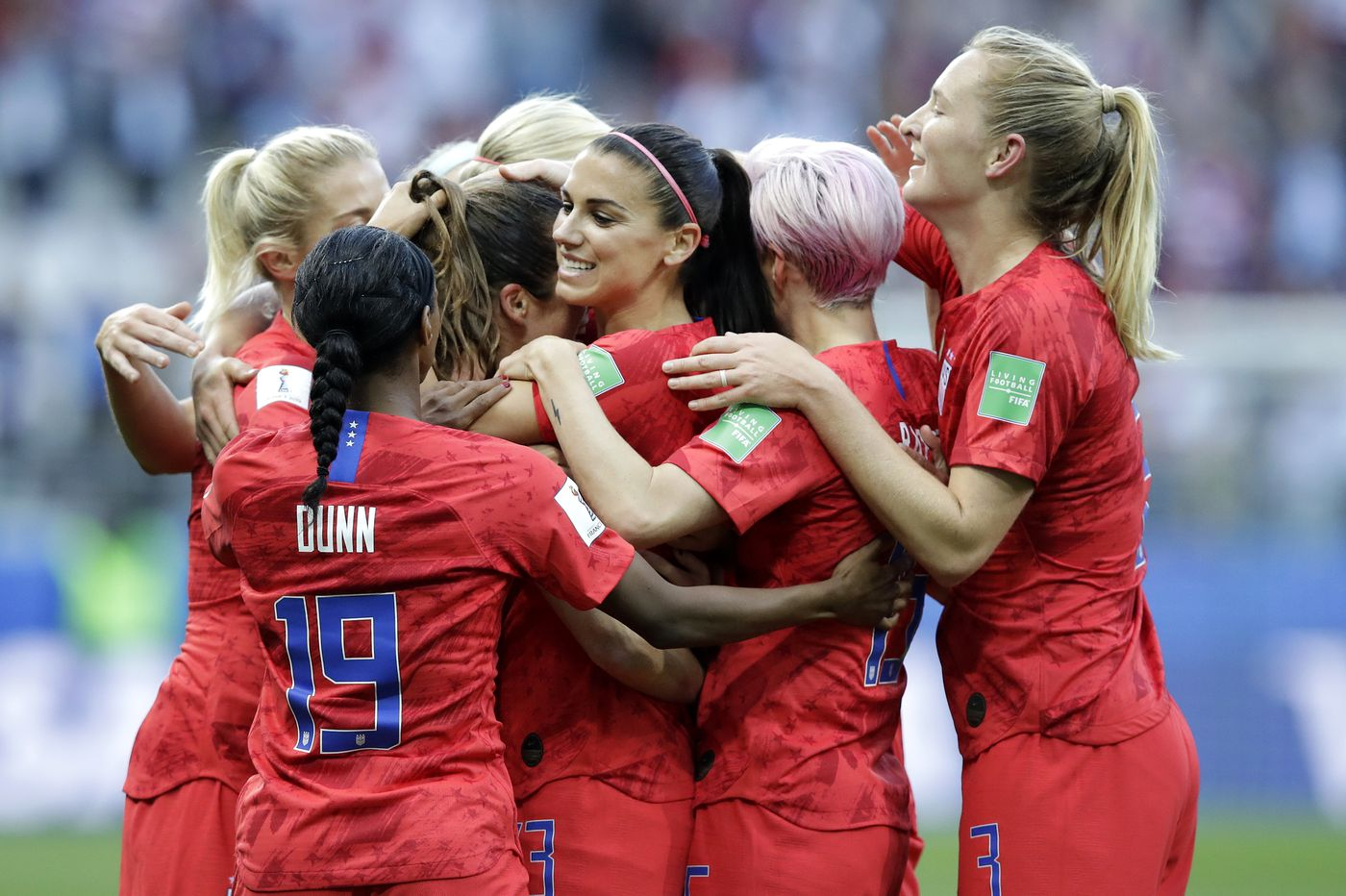 Will Alex Morgan and the U.S. team still be celebrating at the end of the World Cup? | Bob Ford