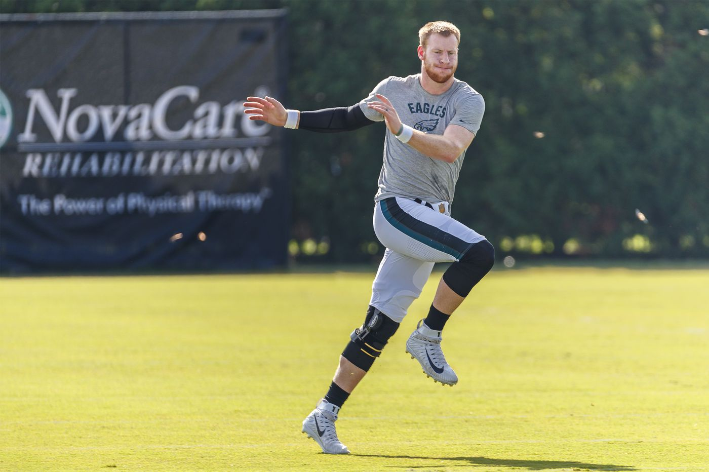 Carson Wentz still eyes season opener, but Eagles will open preseason without him