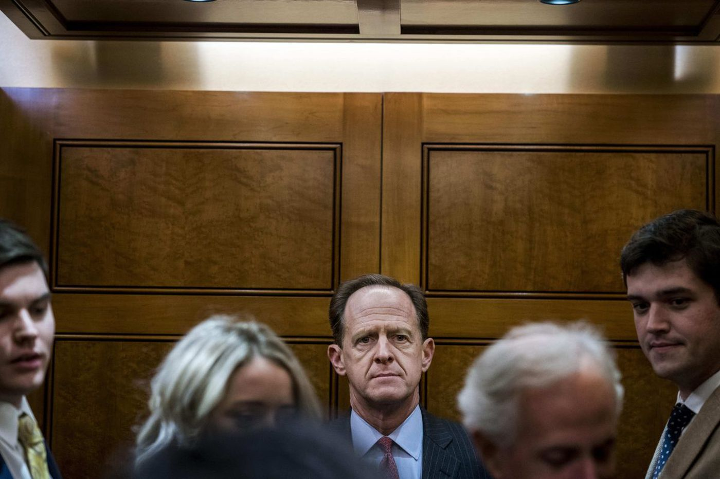 Analysis: Sen. Pat Toomey turned the Republican tax bill away from populism