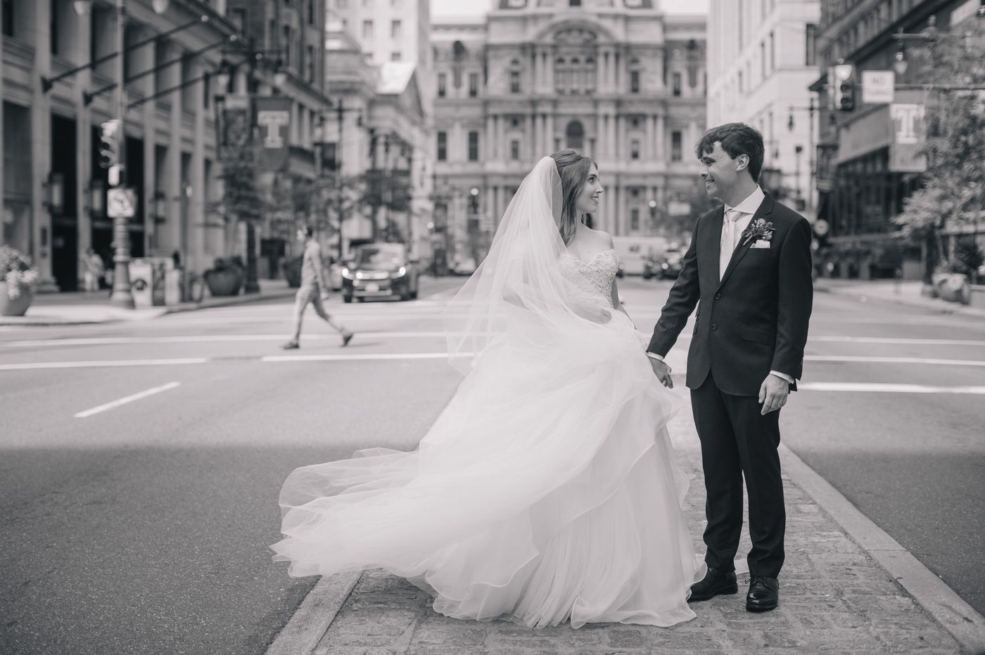Philadelphia Weddings: Jill Hanley and David Owen
