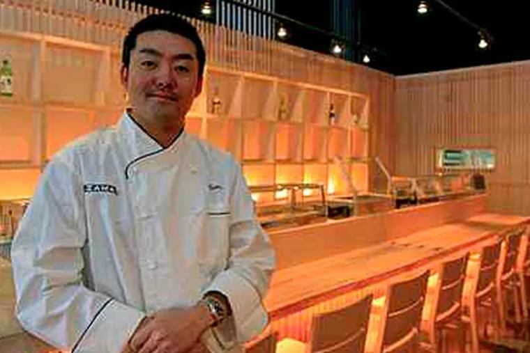 """Hiroyuki """"Zama"""" Tanaka is opening his Zama Japanese restaurant this week near Rittenhouse Square. (Akira Suwa / Staff Photographer )"""