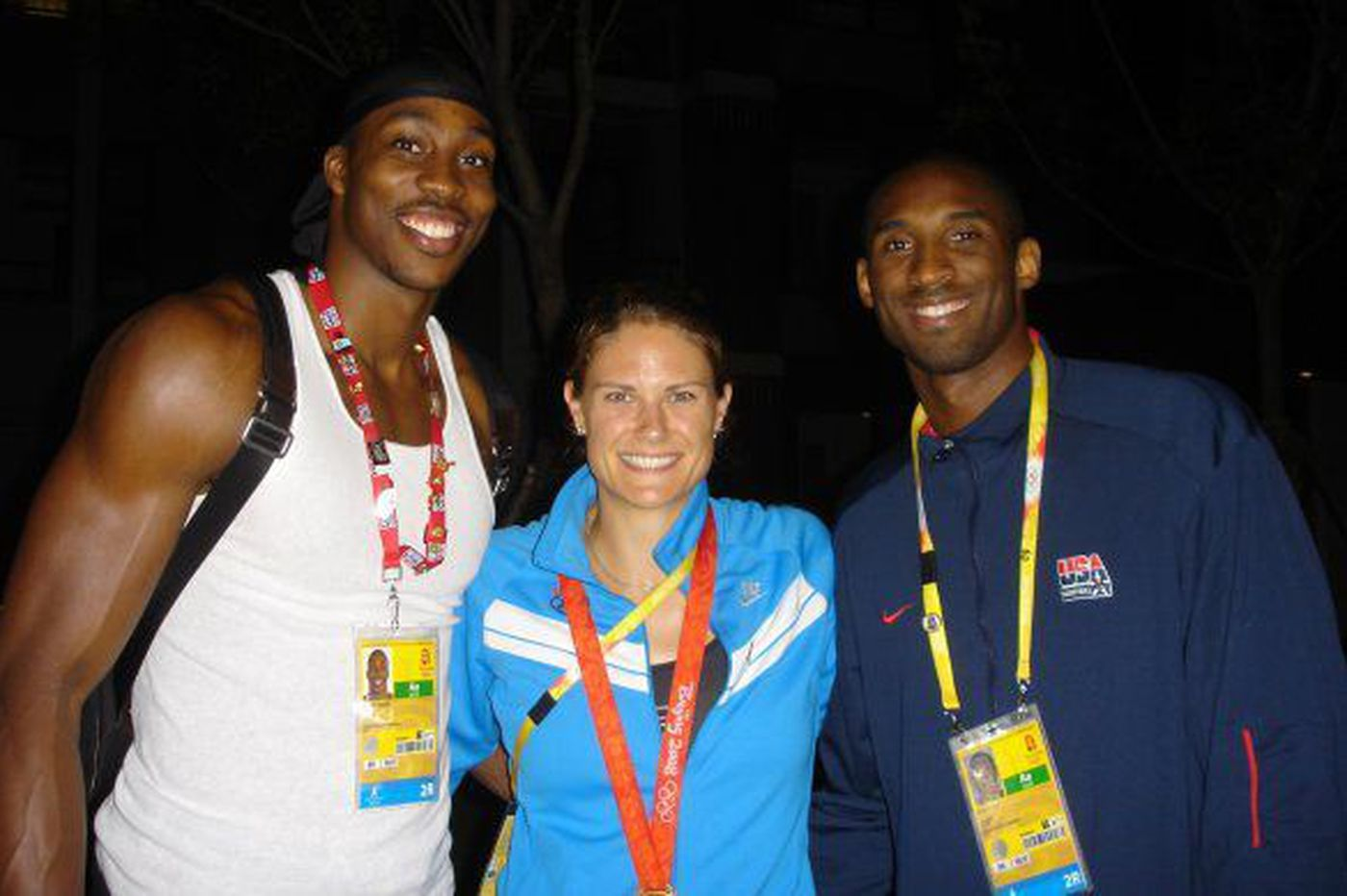 Olympic gold medalist Susan Francia on the time she sat next to Kobe Bryant on the bus