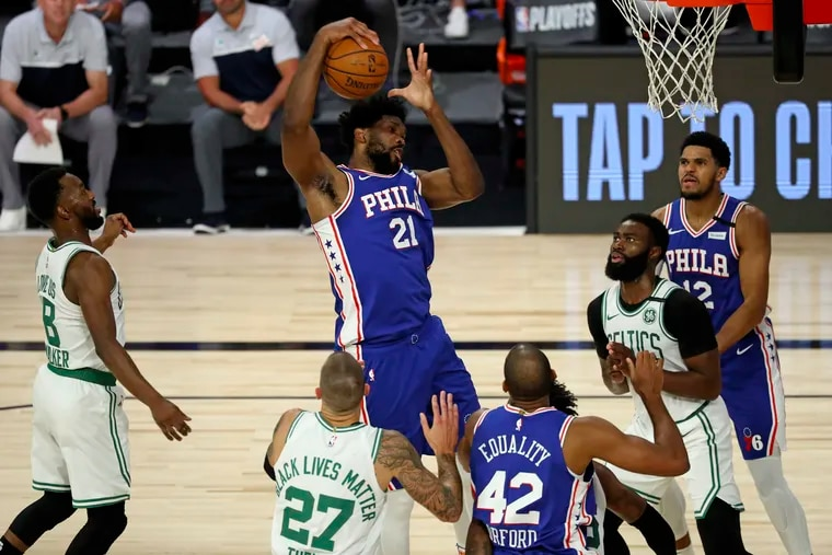 The Sixers played a much more competitive game Friday night, but will face elimination on Sunday regardless. (Kim Klement/Pool Photo via AP)