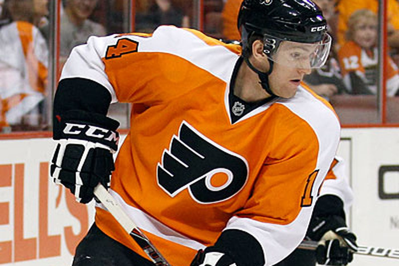 Couturier could step in again for injured Giroux
