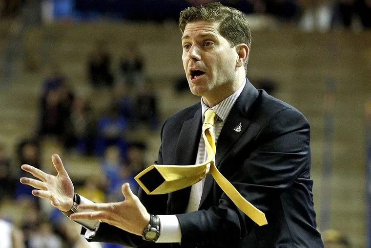 Drexel head coach Zach Spiker.