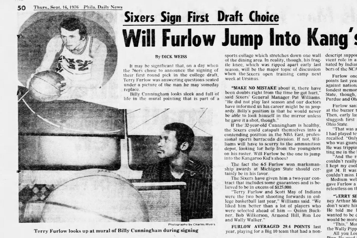 The troubling, tragic, and mysterious story of former Sixers draft pick Terry Furlow   Mike Sielski