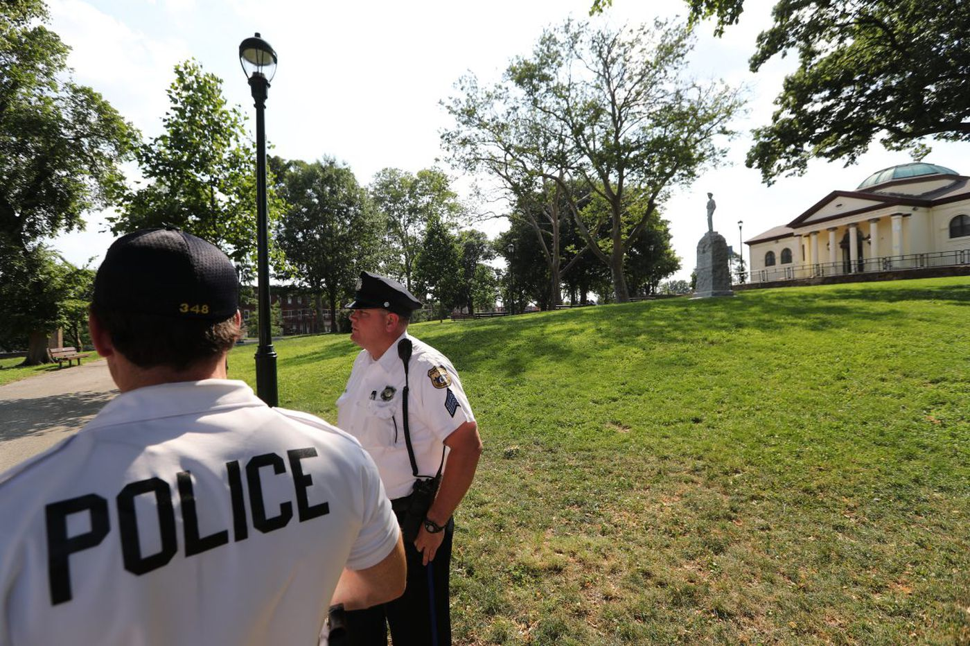 Heroin tourists check out of McPherson Square library, courtesy of police