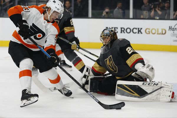 Flyers' season-opening win over Vegas Golden Knights shows promising signs