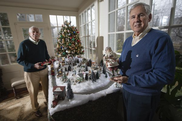 Decorations from around the world help carry on family tradition in Chestnut Hill