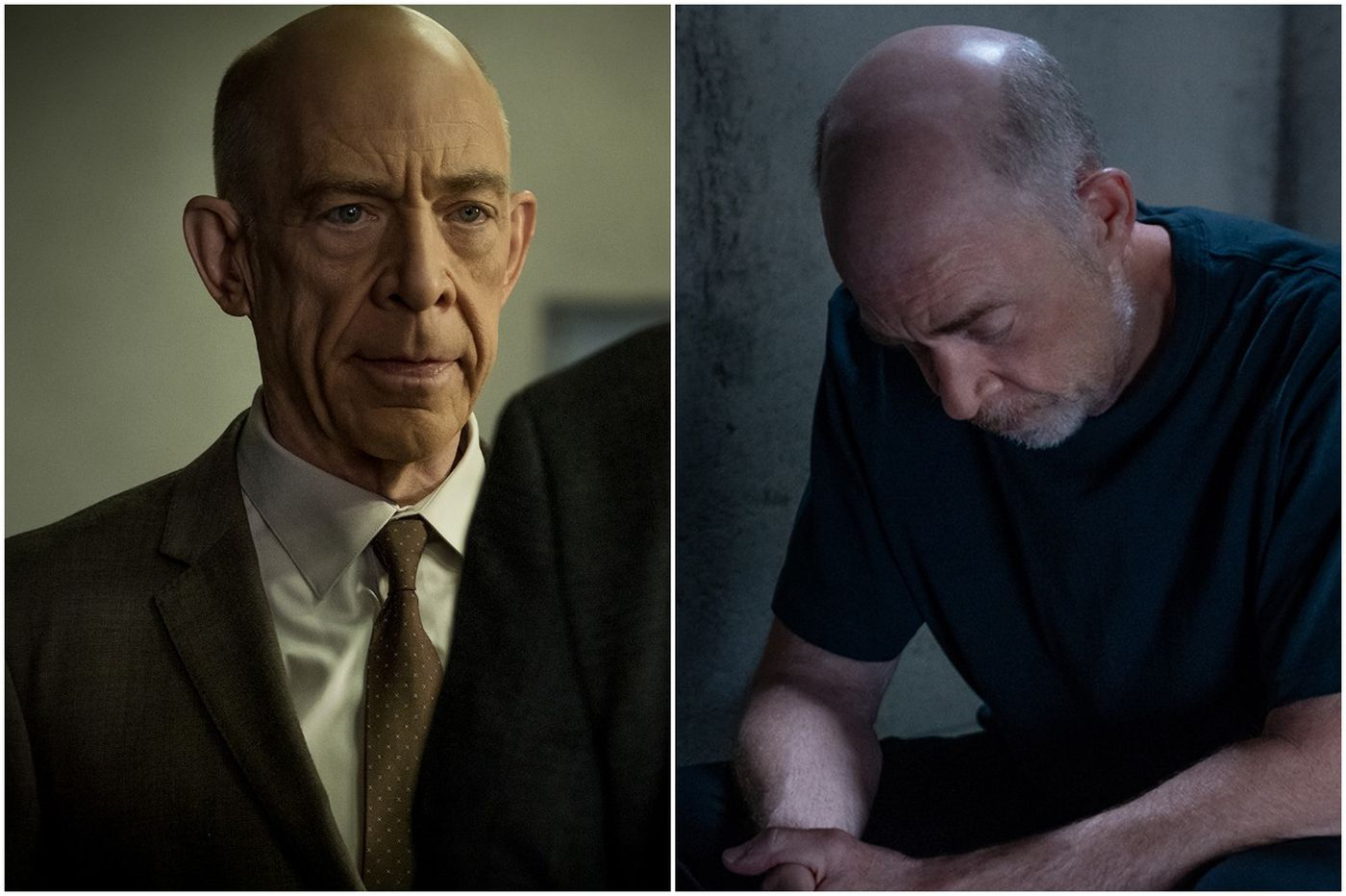 Doubles play: J.K. Simmons in Starz's 'Counterpart,' and 7 other actors who are their own costars