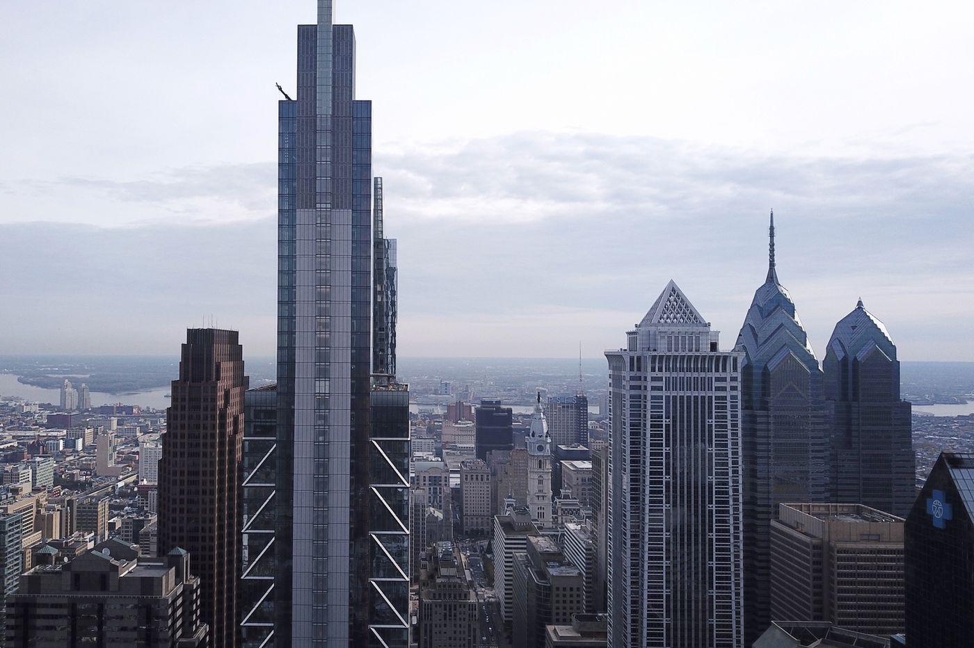 Philadelphia's skyline rising: From a colonial church spire to glassy blue Comcast 2